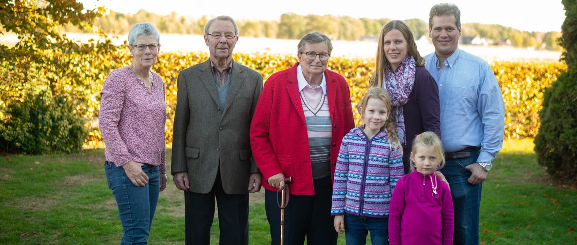 Familie Diercks und Familie Drägestein