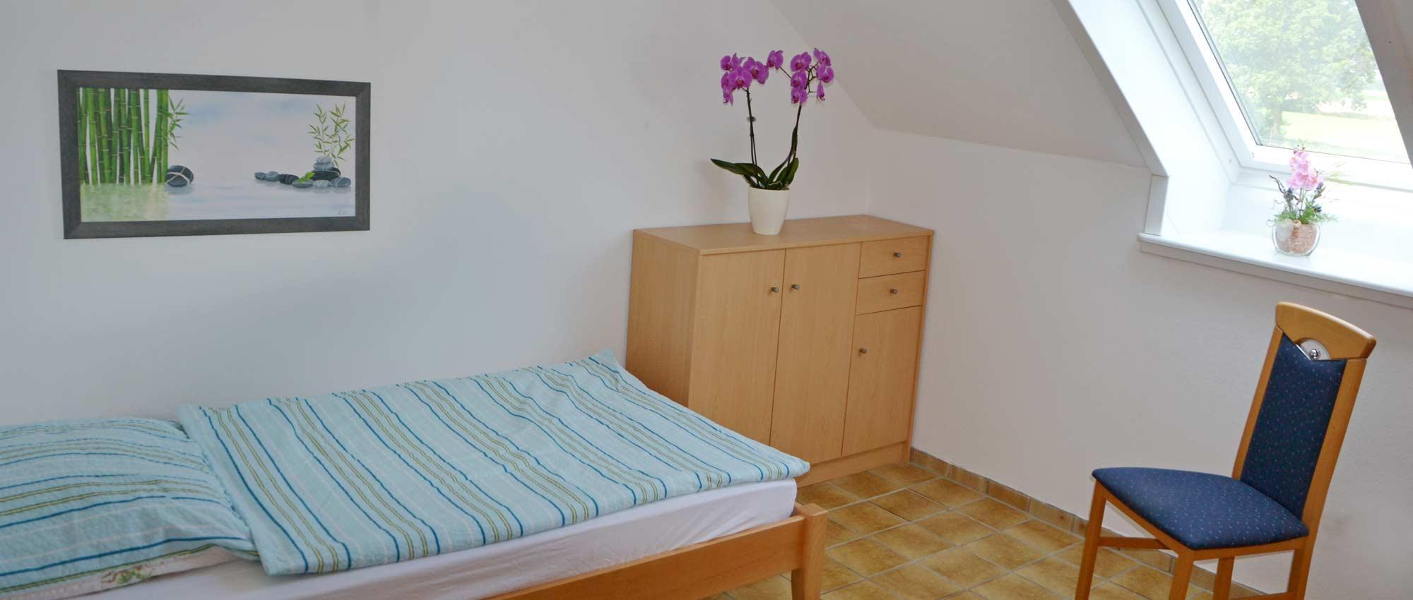 Einzel-/Doppelzimmer Wiesenblick