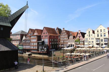Blick auf den Stintmarkt in Lüneburg - © Lüneburg Marketing GmbH