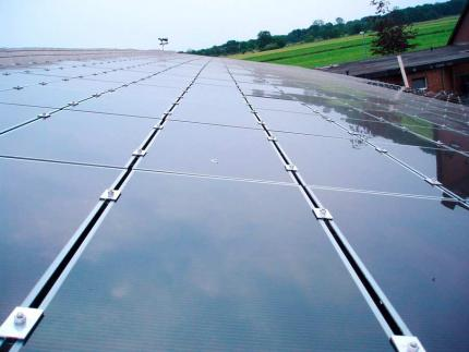 Unsere Photovoltaikanlage