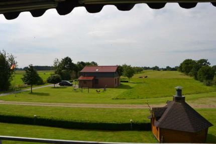 Ihr Ausblick von der überdachten Terrasse