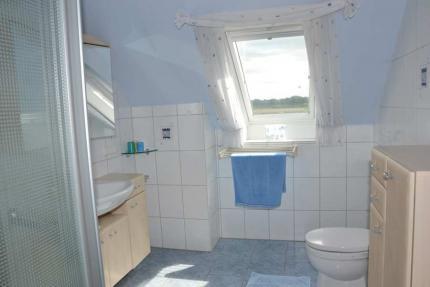 gemeinschaftlich genutztes Duschbad