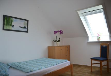 Zimmer Nr. 1 mit Einzelbett