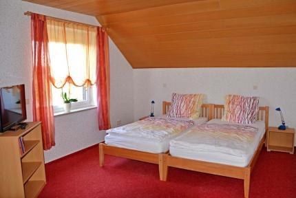 Zimmer Nr. 3 mit Doppelbett